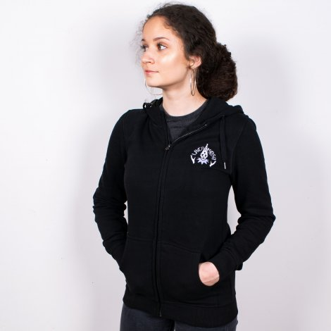 Womens hooded jacket Lacrimosa